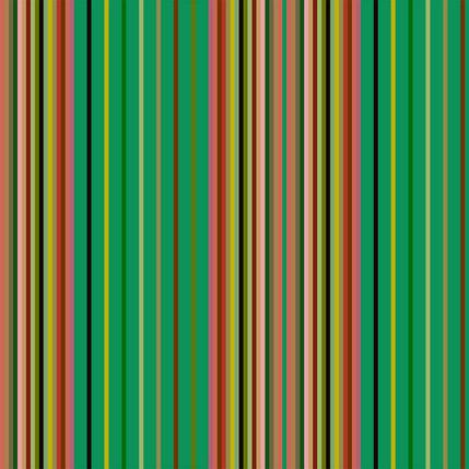 Market Stall Stripe Fabric Design (Cilantro colorway)