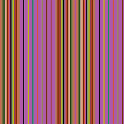 Market Stall Stripe Fabric Design (Prickly Pear colorway)