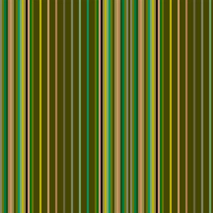 Market Stall Stripe Fabric Design (Tomatillo colorway)