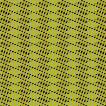 Flower Basket Stripe Fabric Design (Yarrow - Chartreuse colorway)