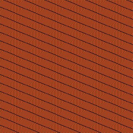 Harvest Basket Stripe Fabric Design (Aeonium colorway)