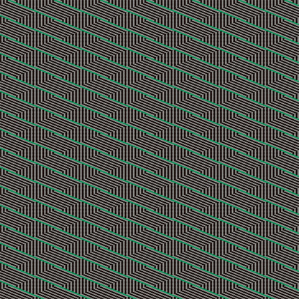 Harvest Basket Stripe Fabric Design (Bromeliad colorway)
