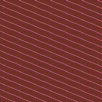Harvest Basket Stripe Fabric Design (Zinnia colorway)