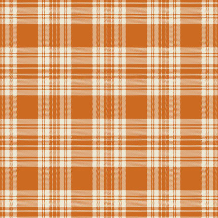 Kilt Mini Fabric Design (Russet colorway)