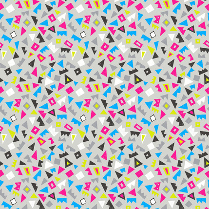 Scatter Geometric Fabric Design (Pinks colorway)