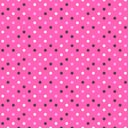 Spot Geometric Fabric Design (Pinks colorway)