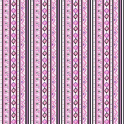 Shortcut Geometric Fabric Design (Pinkly colorway)
