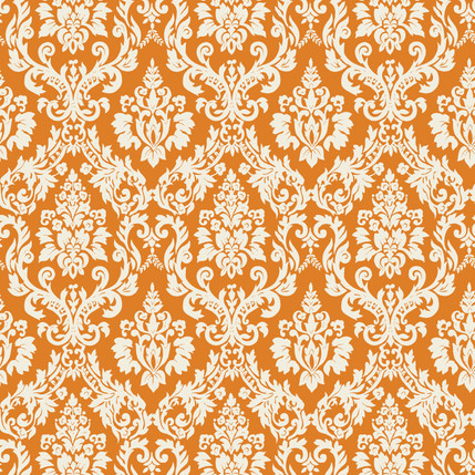 Classico Fabric Design (Pumpkin colorway)