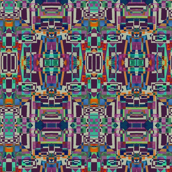 Taos - Ikat Fabric By The Yard