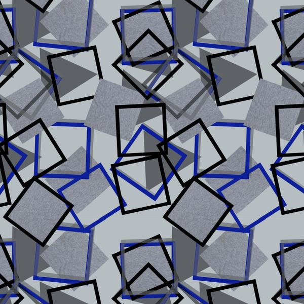 Topple - Geometric Fabric By The Yard