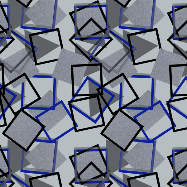 Topple - Geometric Fabric By The Yard