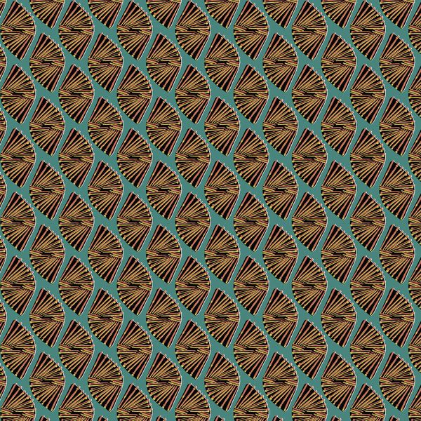 Funky Geo - Geometric Fabric By The Yard
