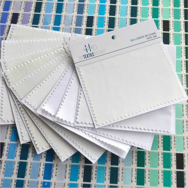 "Fabric Swatch Kit - 5"" x 5"" Unprinted Samples"