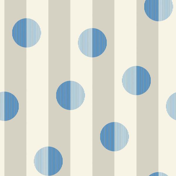 Blink - Geometric Stripe Fabric By The Yard