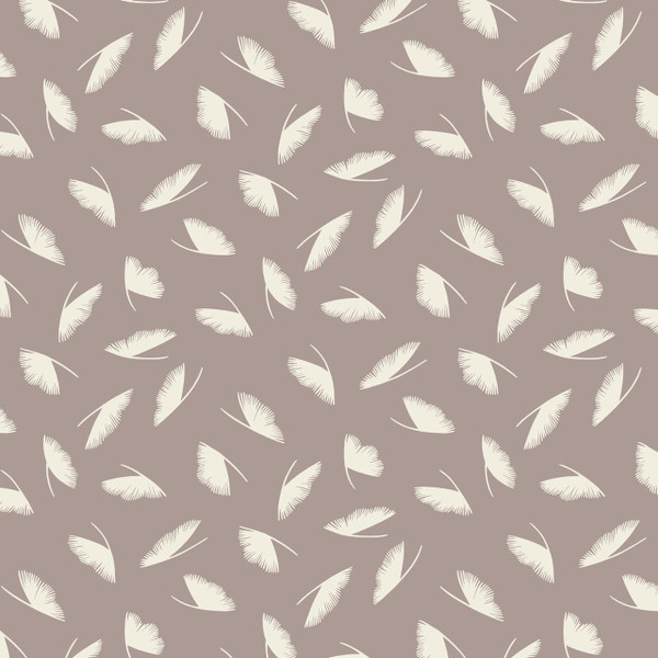 Ploom - Abstract Fabric By The Yard