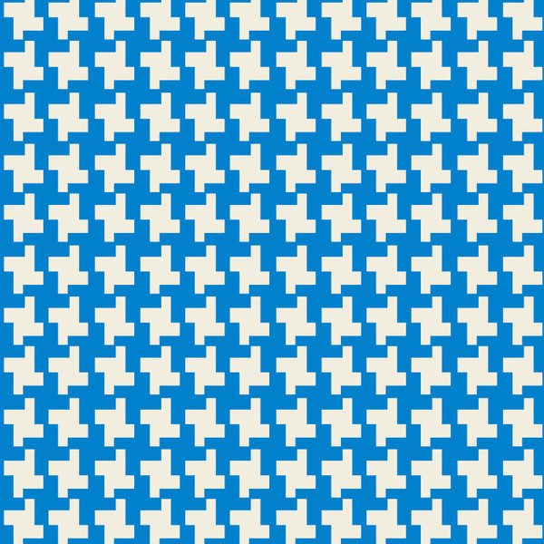 Puzzle - Geometric Fabric By The Yard
