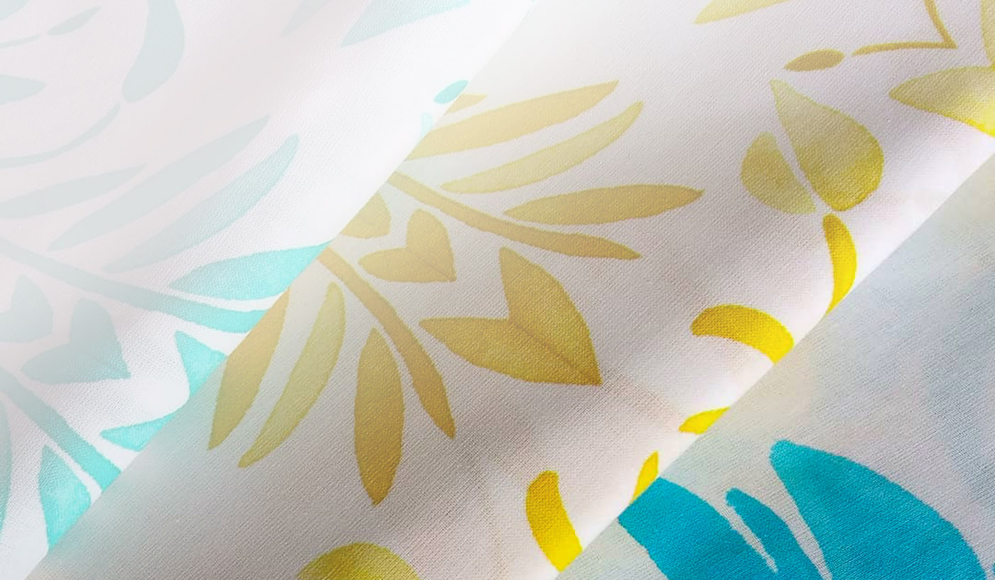 Custom print fabric on demand for home decor, apparel, and upholstery