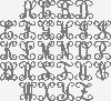 Antler Monogram Vine Name