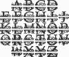 Omega Monogram with Name