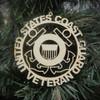 Military Veteran Coast Guard Ornament