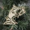 Bass Fish Ornament