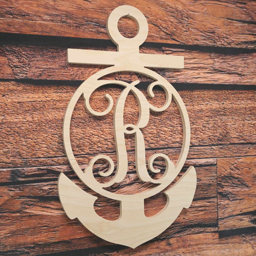 Anchor Monogram Vine