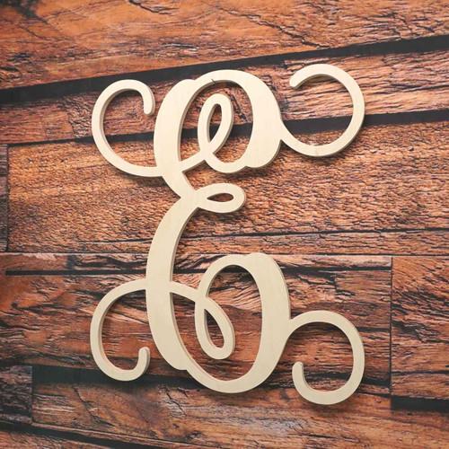 Monogram Letter Vine