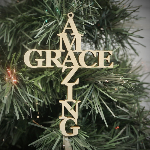 Amazing Grace Ornament