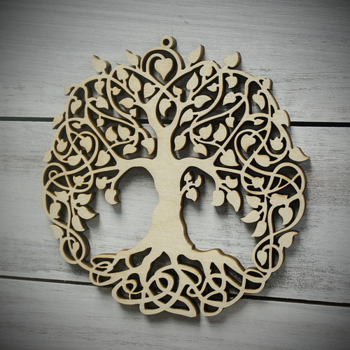 Celtic Tree  Ornament
