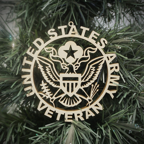 Military Veteran Army Ornament
