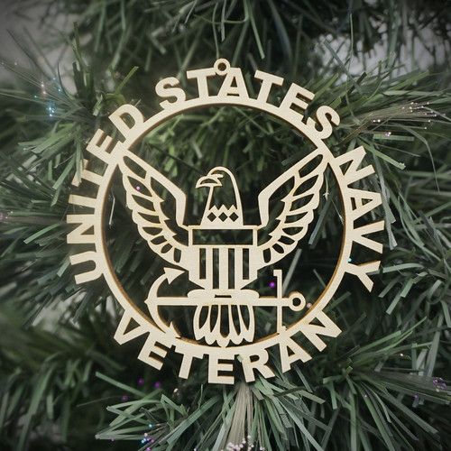 Military Veteran Navy Ornament