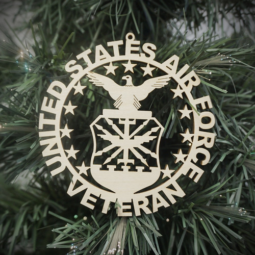 Military Veteran Air Force Ornament