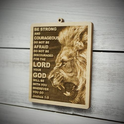Joshua 1:9 Ornament