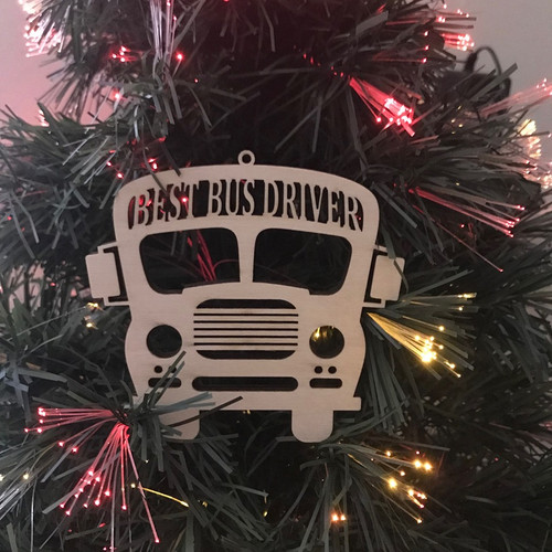 Bus Ornament