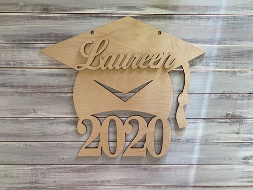 Graduation Cap Door Decor