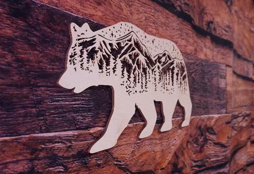 Starry Mountain bear