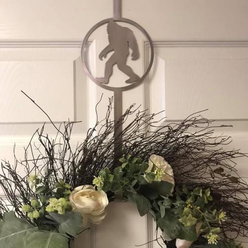 Bigfoot wreath hook