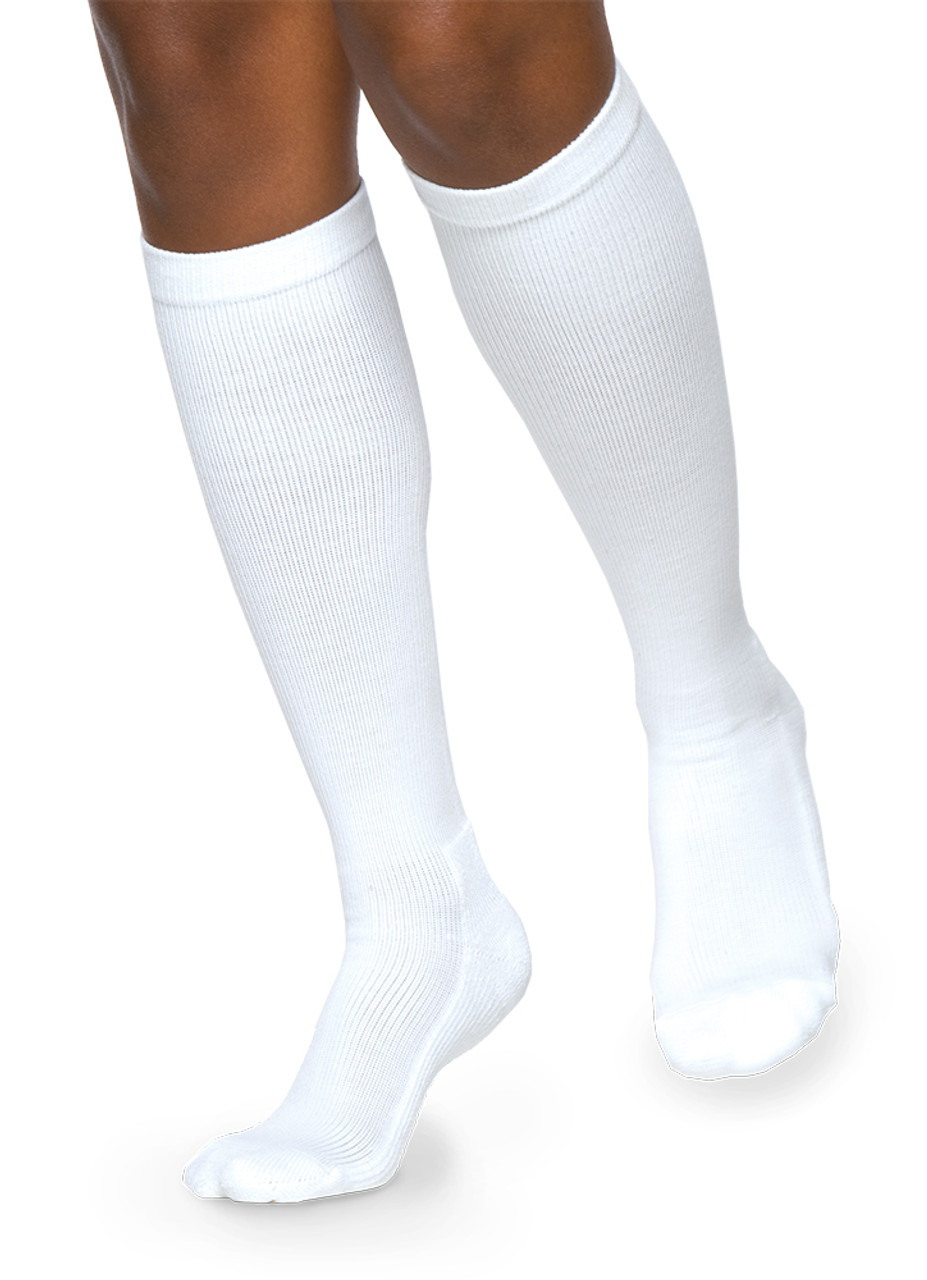 34f22ceac9 Sigvaris 362 Cushioned Cotton 20-30 mmHg Men's Closed Toe Knee High 362C