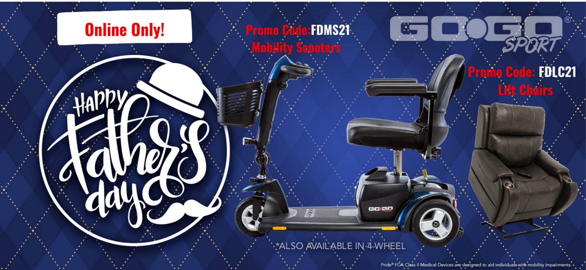 Fathers day scooter deals