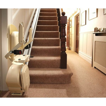 Brooks stair lift folded up