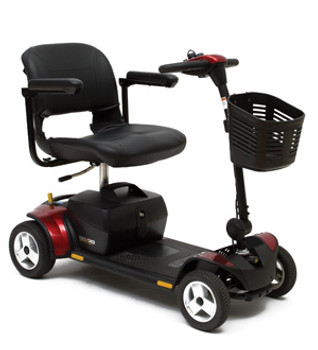 Pride Mobility Go-Go Elite Traveler Plus 4  Wheel