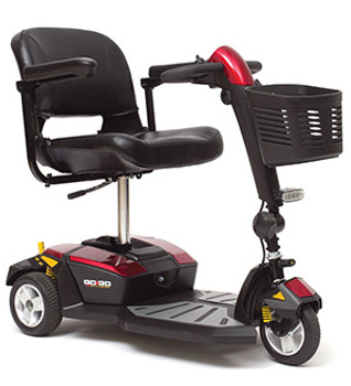 Pride Go-Go LX with CTS Mobility Scooter
