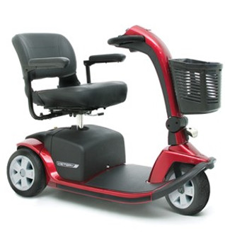 Pride Mobility 10 Mobility Scooter 3 wheel