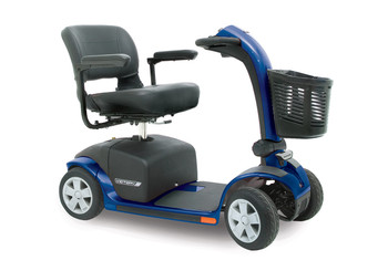 Victory 10 4 wheel mobility scooter Blue