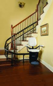 How much does a curve stair lift cost