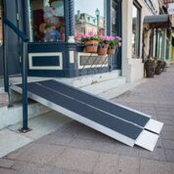 aluminum wheelchair ramps for homes