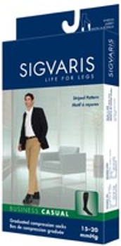 Sigvaris 189C Business Casual 15-20 mmHg Compression Socks