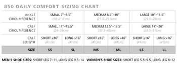 Sigvaris Daily Comfort 20-30 mmHg Knee High Mens 852C