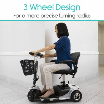3-Wheel Mobility Scooter