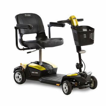 Yellow Mobility Scooter